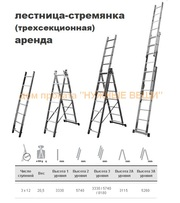 аренда лестницы